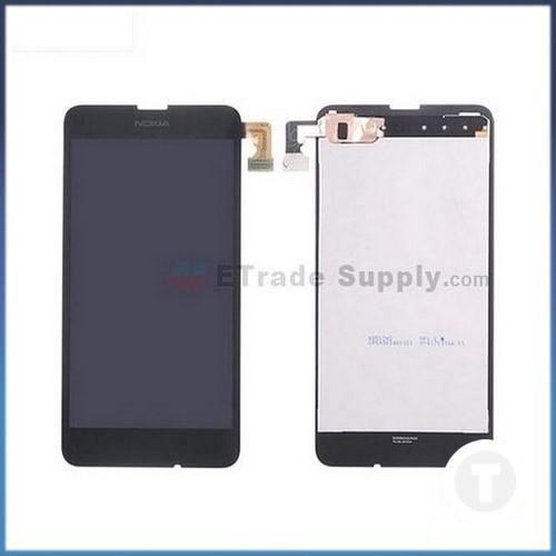 Дисплей (екран) для Nokia 630/ 635/ 636/ 638 Lumia з сенсором / тачскріном (Модуль) чорний
