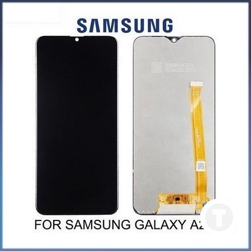 Дисплей (екран) для Samsung A202 Galaxy A20e IPS з сенсором / тачскріном (Модуль) чорний