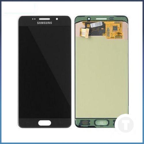 Дисплей (екран) для Samsung A510 Galaxy A5 (2016) TFT INCELL з сенсором / тачскріном (Модуль) чорний