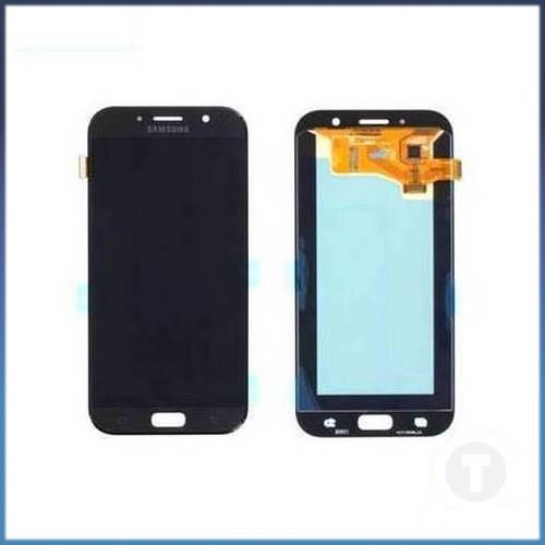 Дисплей (екран) для Samsung A720 Galaxy A7 (2017) TFT (З регулюванням яскравості) з сенсором / тачскріном (Модуль) чорний