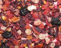 Фруктовый чай Тутти-Фрутти (манго,папая,яблоко,мускатный виноград,ананас,каркаде)