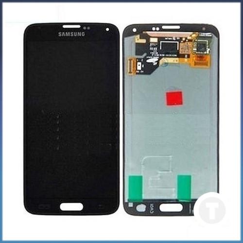 Дисплей (экран) для Samsung G900H Galaxy S5 TFT (с регулировкой яркости) с сенсором/ тачскрином (Модуль)