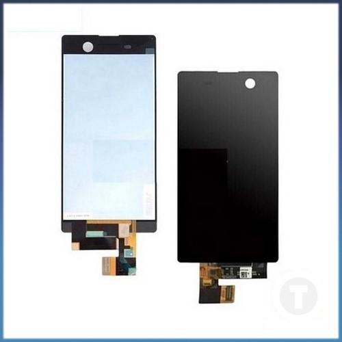 Дисплей (экран) для Sony E5603 Xperia M5 Dual/ E5606/ E5633 с сенсором/ тачскрином (Модуль) черный