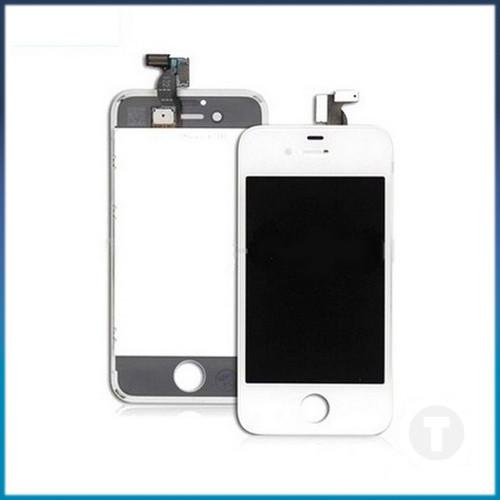 Дисплей (экран) для iPhone 4S с сенсором/ тачскрином (Модуль) белый