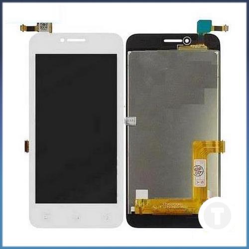 Дисплей (экран) для Lenovo A1010 A Plus (A1010a20/  A2016a40) Vibe B с сенсором/ тачскрином (Модуль) белый
