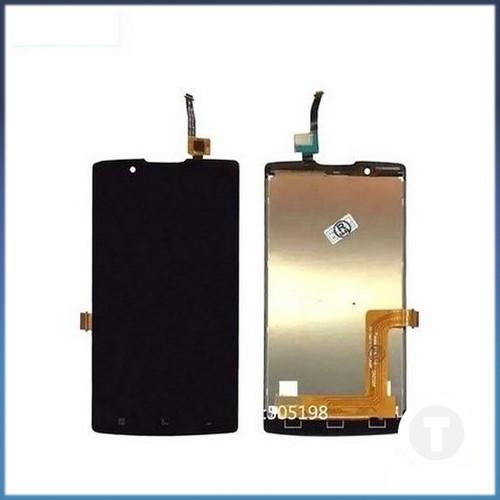 Дисплей (экран) для Lenovo A2010 с сенсором/ тачскрином (Модуль) черный