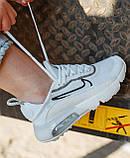 Женские кроссовки Nike Air Max 2090 White Black White CK2612-100, фото 7