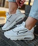 Женские кроссовки Nike Air Max 2090 White Black White CK2612-100, фото 8