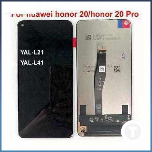 Дисплей (екран) для Huawei Honor 20 (YAL-L21)/ Honor 20 Pro/ Nova 5T з сенсором / тачскріном (Модуль) чорний оригінал
