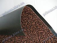 Коврик грязезащитный Узор, 90х150см., коричневый
