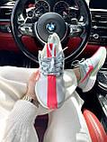 Жіночі кросівки Nike Zoom Pegasus 35 Turbo Grey Wolf Hot Punch AJ4115-060, фото 3