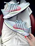 Жіночі кросівки Nike Zoom Pegasus 35 Turbo Grey Wolf Hot Punch AJ4115-060, фото 5