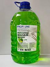 Засіб для миття посуд Profi Line 5л гліцерин з ароматом лайму