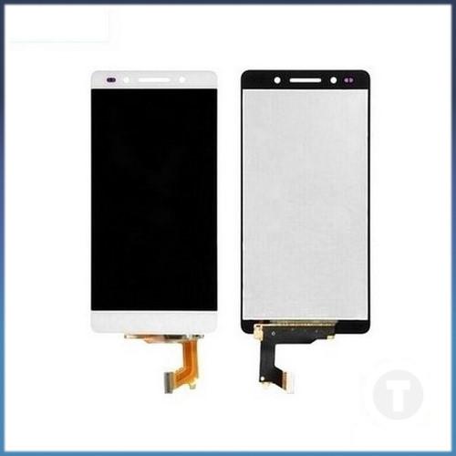 Дисплей (екран) для Huawei Honor 7 (PLK-L01)/ Honor 7 Enhanced Edition з сенсором / тачскріном (Модуль) білий