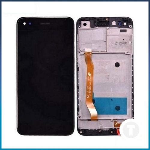Дисплей (екран) для Huawei Nova Lite(2017)/ P9 Lite mini/ Y6 Pro(2017)SLA-L02 з сенсором / тачскріном (Модуль) чорний з рамкою