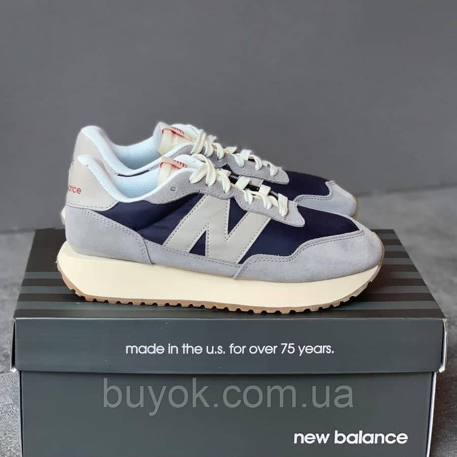 Женские кроссовки New Balance 237 70's Vintage Core MS237SC