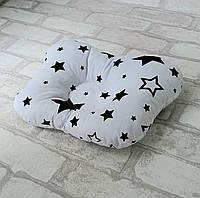 Подушка ортопедическая для новорожденного бабочка хлопок Польша, фото 1