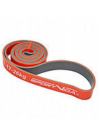 Эспандер-петля (резина для фитнеса и спорта) SportVida Power Band 28 мм 17-26 кг SV-HK0210