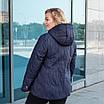 Куртки женские демисезонные больших размеров    50-60  бежевый, фото 4