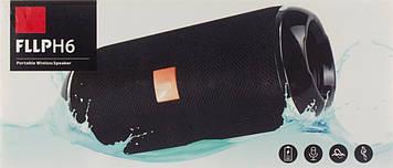 Колонка mini speaker JBL FLLP H6 bluetooth yellow/blue
