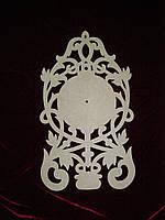 Часы (58 х 33 см), декор