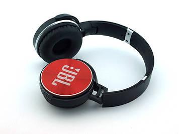 Навушники AZ-009 (bluetooth+stereo+mp3 player+гарнітура) red безпровідні