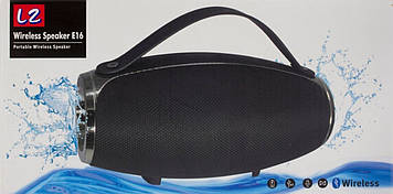 Колонка mini speaker JBL Big E16 bluetooth+power bank black