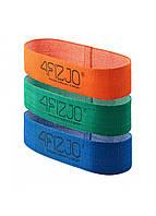 Резинка для фитнеса и спорта тканевая 4FIZJO Flex Band 3 шт 1-15 кг 4FJ0126