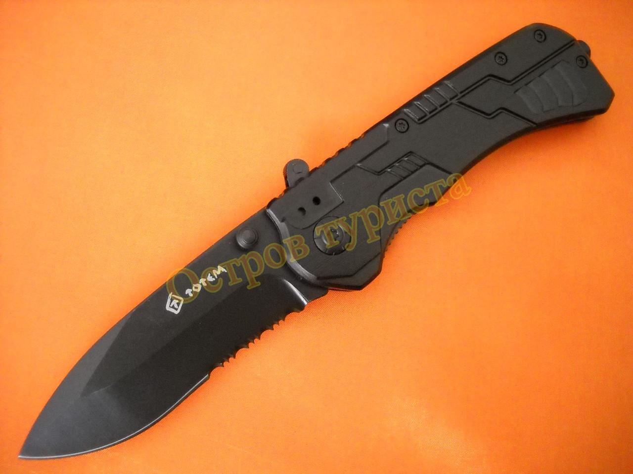 Нож складной  Тotem ВО73 полусеррейтор