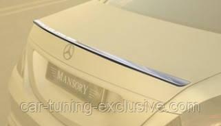 MANSORY rear deck spoiler for Mercedes S-class W222