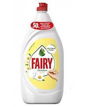 Засіб для миття посуду Fairy ромашка і вітамін Е 1,35 л