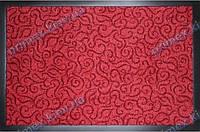 Коврик грязезащитный Узор, 90х150см., красный
