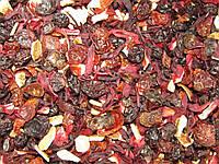 Фруктовый чай Дольче Вита (смородина,шиповник,каркаде,ананас и др)