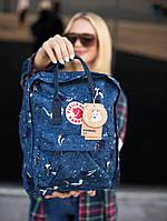 Рюкзаки Fjallraven Kanken Art 16 літрів різні кольори. Канкен рюкзаки для підлітків в школу. Шкільні портфелі
