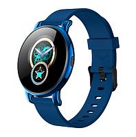 Смарт-часы B37 с музыкальным управлением, 8 спортивных режимов синие