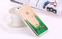 3Д анимационный переливающийся чехол для Iphone 6 зеленый