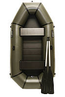 Надувная резиновая лодка Grif boat GL-240S для рыбалки и охоты на воде 220607 TS, КОД: 110881