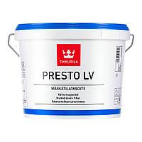 Влагостойкая шпатлевка Престо ЛВ (Presto LV) готовая 3 л, Tikkurila