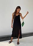 Платье - Комбинация Женское Шелк Миди, фото 3