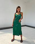 Платье - Комбинация Женское Шелк Миди, фото 8