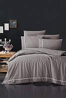 Комплект постельного белья First Choice Ranforce Deluxe Alisa Lilac хлопок 200-220 см лиловый