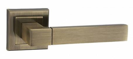 """Дверная ручка MVM  """"GROTTI""""  a-2004 никель/хром и бронза., фото 2"""
