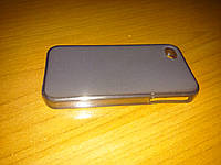 Чехол силикон для iPhone 4/4S серый