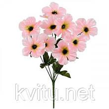 Искусственные цветы букет флоксы атлас, 35см