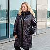 Пальто зимние женские  больших размеров   50-60 хаки, фото 2