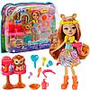 Игровой набор куклы Энчантималс «Салон причесок» Enchantimals Львица Лейси с питомцем (GTM29)