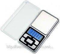 Весы карманные ювелирные до 200 грамм для бисера и других мелочей
