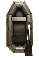 Надувная резиновая лодка Grif boat GL-240S для рыбалки и охоты на воде 220607 KB, КОД: 110881
