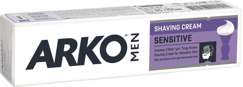 Крем для гоління ARKO Sensitive 65 мл (8690506094515)