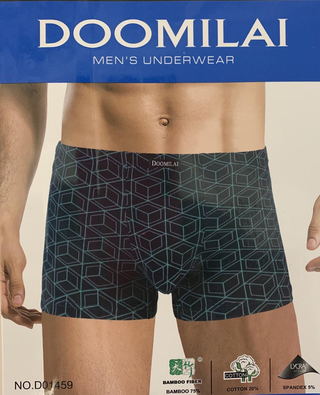 """Кольорові чоловічі труси-боксери """"Doomilai"""""""